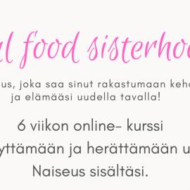 Kultainen kanttarellirisotto ja Soul food sisterhood